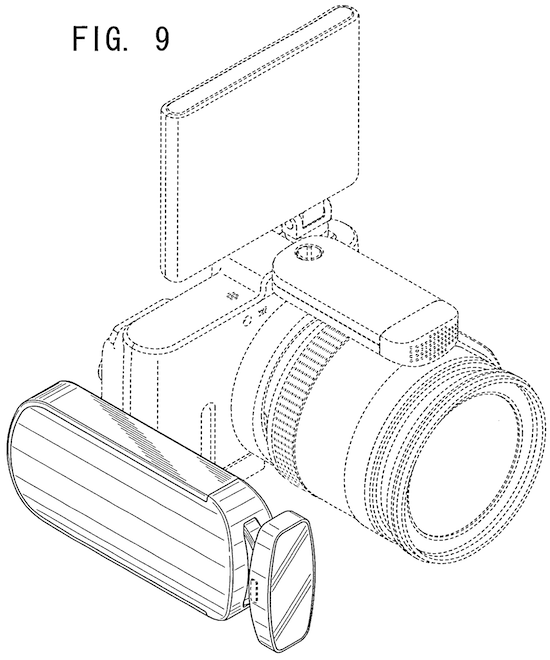 Nikon 1 LED video light patent