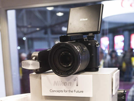 Nikon 1 camera concept accessories for the future