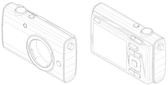 Nikon 1 camera design patent 2