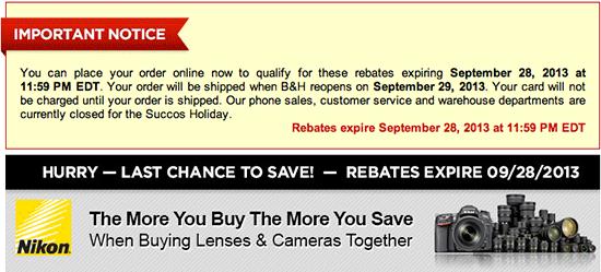 Nikon-instant-rebates-September-2013
