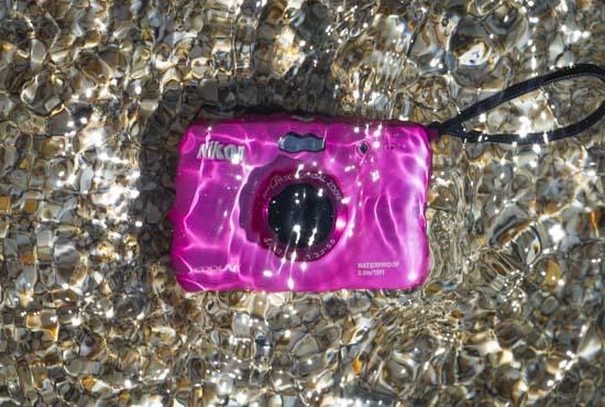 Nikon underwater compact camera
