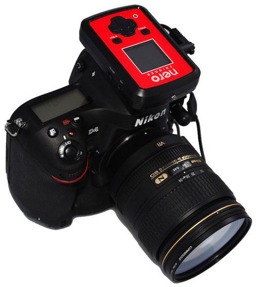 Nero-Trigger-Nikon-DSLR-camera