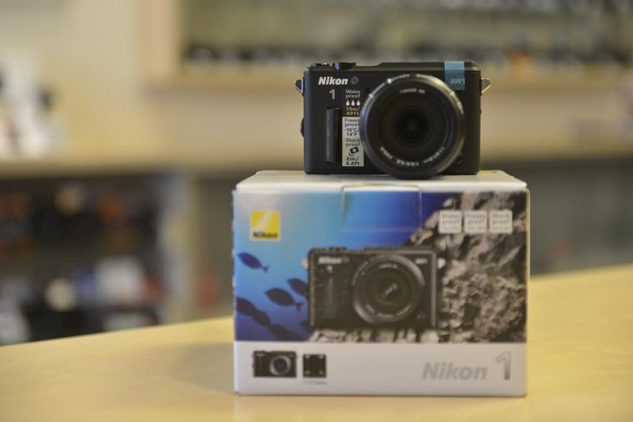 Nikon 1 AW1 underwater camera 4