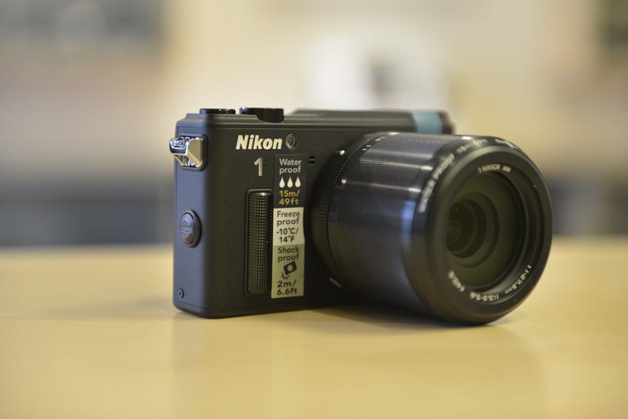 Nikon 1 AW1 underwater camera 6