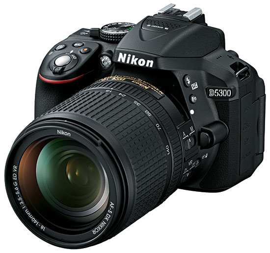 Nikon D5300 Dslr Camera Announcement on fire sensor