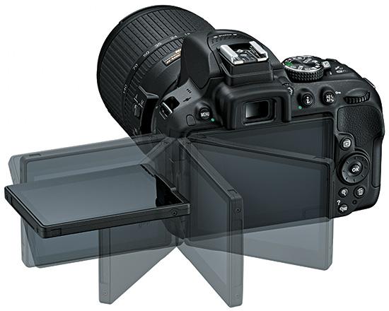 Nikon-D5300-LCD-screen