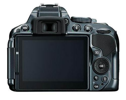Nikon D5300 camera back