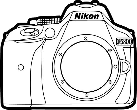 Nikon-D5300-camera-lines