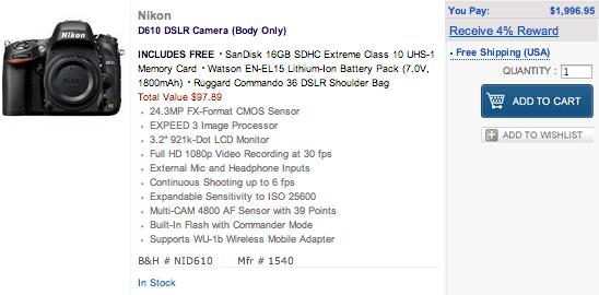 Nikon-D610-in-stock