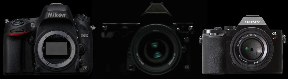 Nikon-D610-vs-Nikon-Df-vs-Sony-a7-size-comparison