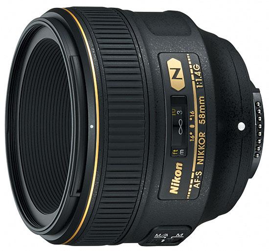 Nikon-NIKKOR-AF-S-58mm-f1.4G-lens