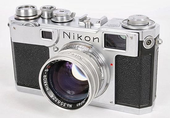 Nikon-S2-and-rare-aluminum-lens