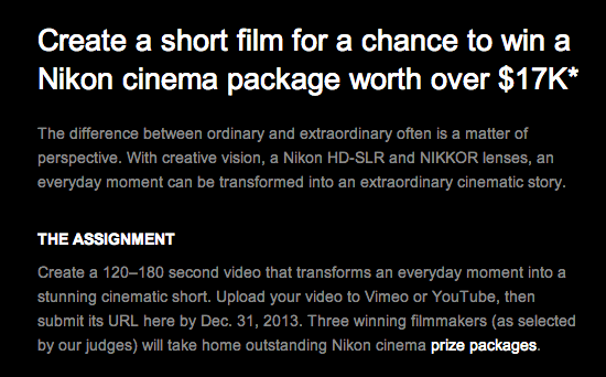 Nikon-video-competition