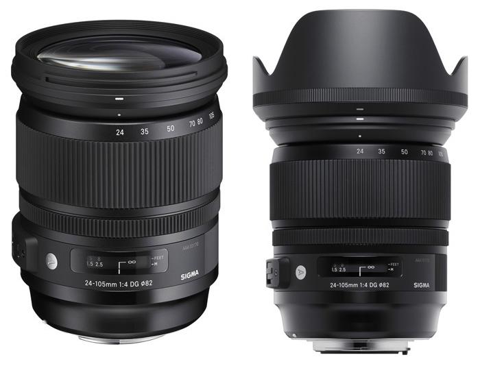 Sigma 24-105mm f:4 DG OS lens