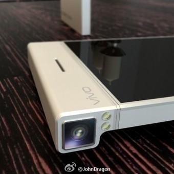 Vivo phone with rotating Nikon-branded camera and EXPEED processor