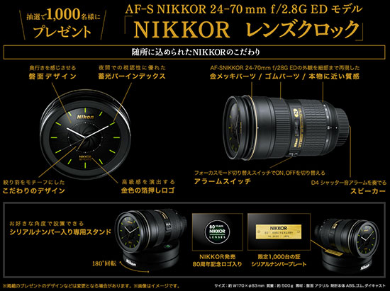 Nikkor-lens-alarm-clock