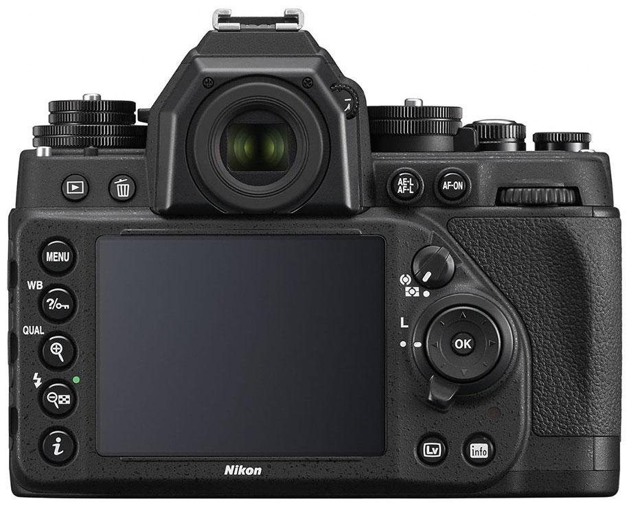 nikon df black back view nikon rumors Nikon D5100 Digital SLR Camera Nikon D5100 Camera Case