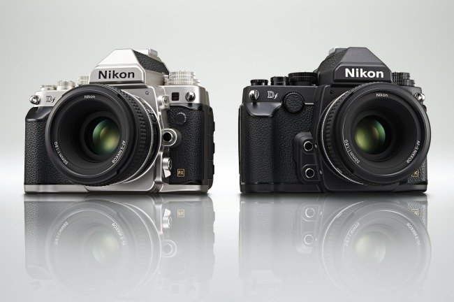 Nikon Df black and silver