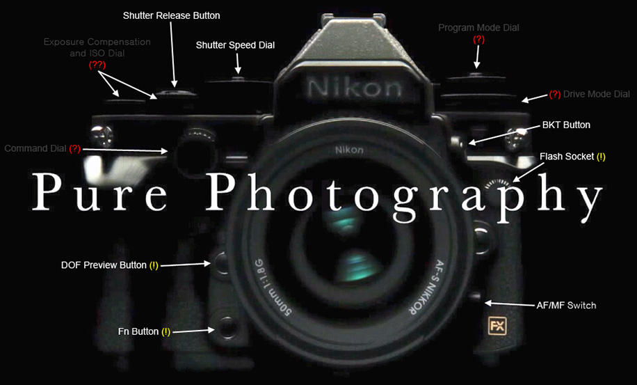Nikon-Df-camera-controls