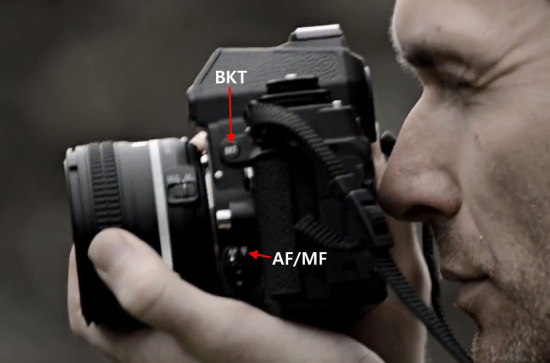 Nikon-Df-camera-side-controls
