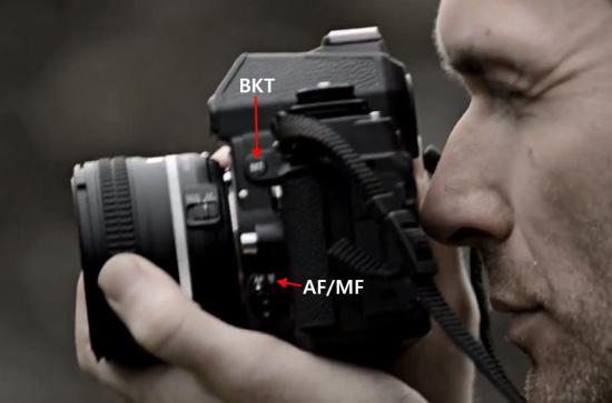 Nikon-Df-camera-side-controls