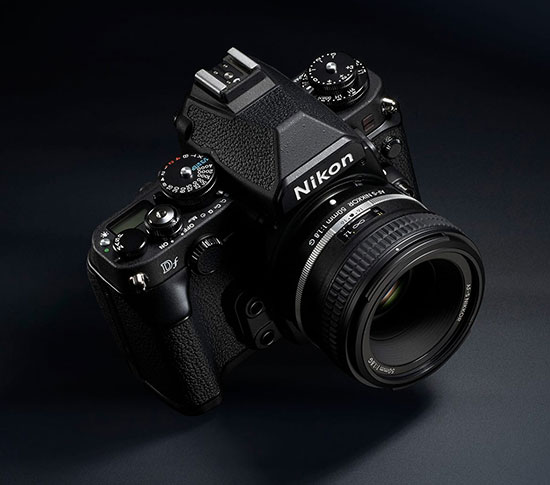 Nikon Df camera detailed specifications