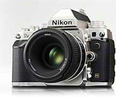 Nikon-Df-silver-camera
