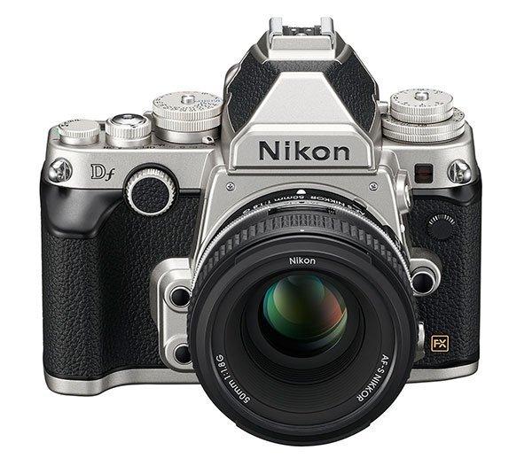 Nikon Df-silver front