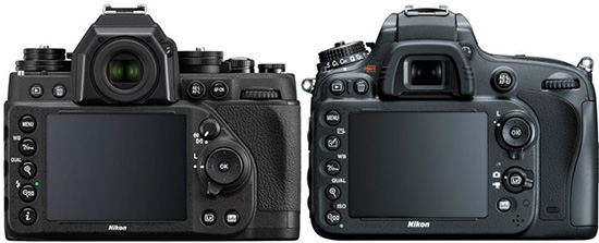 Nikon-Df-vs.-Nikon-D610-specifications-comparison-back