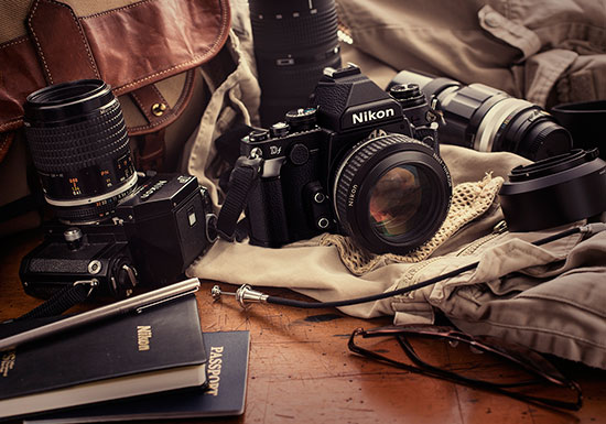 Nikon-Df-with-Nikon-F