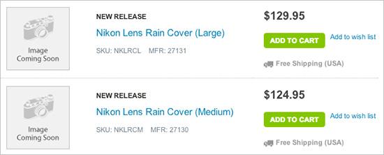 Nikon-lens-rain-covers