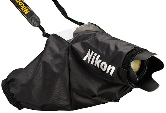 Nikon-rain-cover