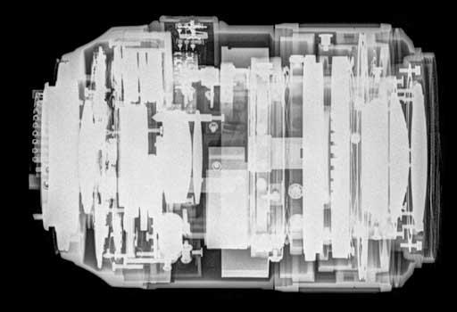 X-ray-image-of-Nikon-lens
