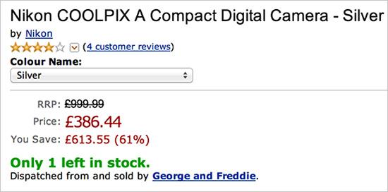 Nikon-Coolpix-A-camera-sale-Amazon-UK
