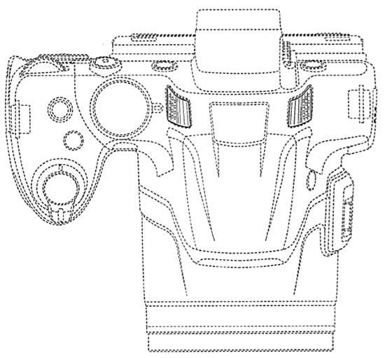 Nikon-Coopix-P530-camera-top