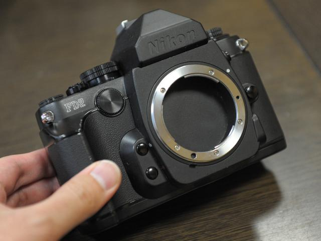 Nikon Df camera prototype 2
