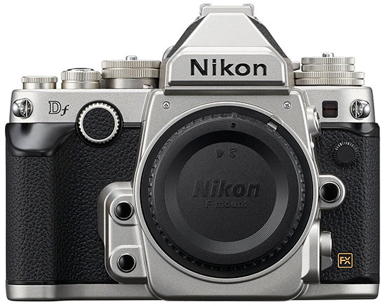 Nikon-Df-silver-retro-DSLR-camera-body-only