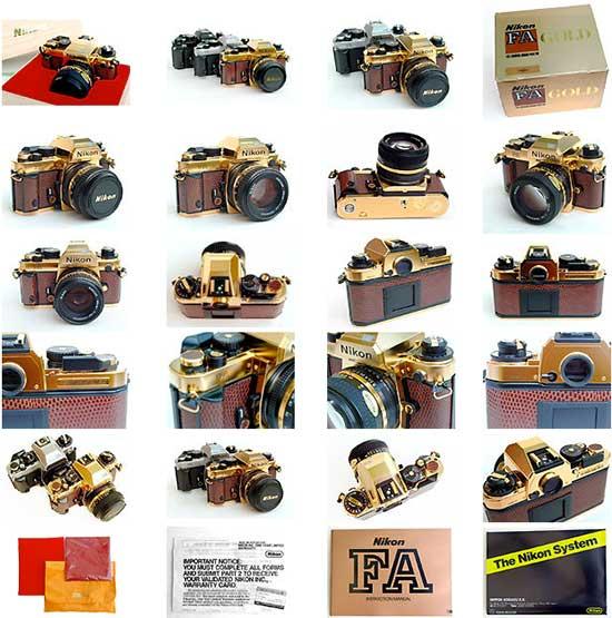 Nikon-FA-gold-camera