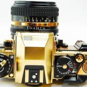Nikon FA limited edition gold film camera 2