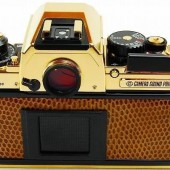 Nikon FA limited edition gold film camera 3