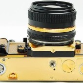 Nikon FA limited edition gold film camera 4