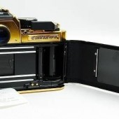 Nikon FA limited edition gold film camera 6