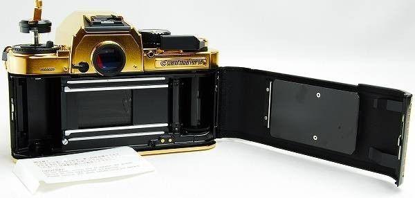 Nikon FA limited edition gold film camera 6