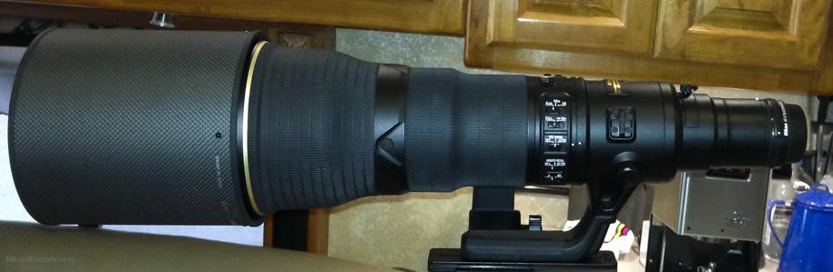 Nikon Nikkor AF-S 800mm f-5.6E FL ED VR lens