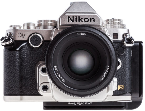 Really-Right-Stuff-plate-for-Nikon-Df-camera
