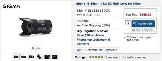 Sigma-18-35mm-f1.8-Nikon-lens-in-stock