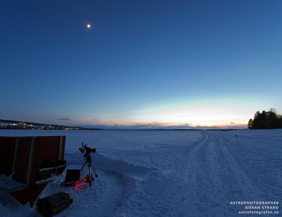 The hunt for Aurora Borealis