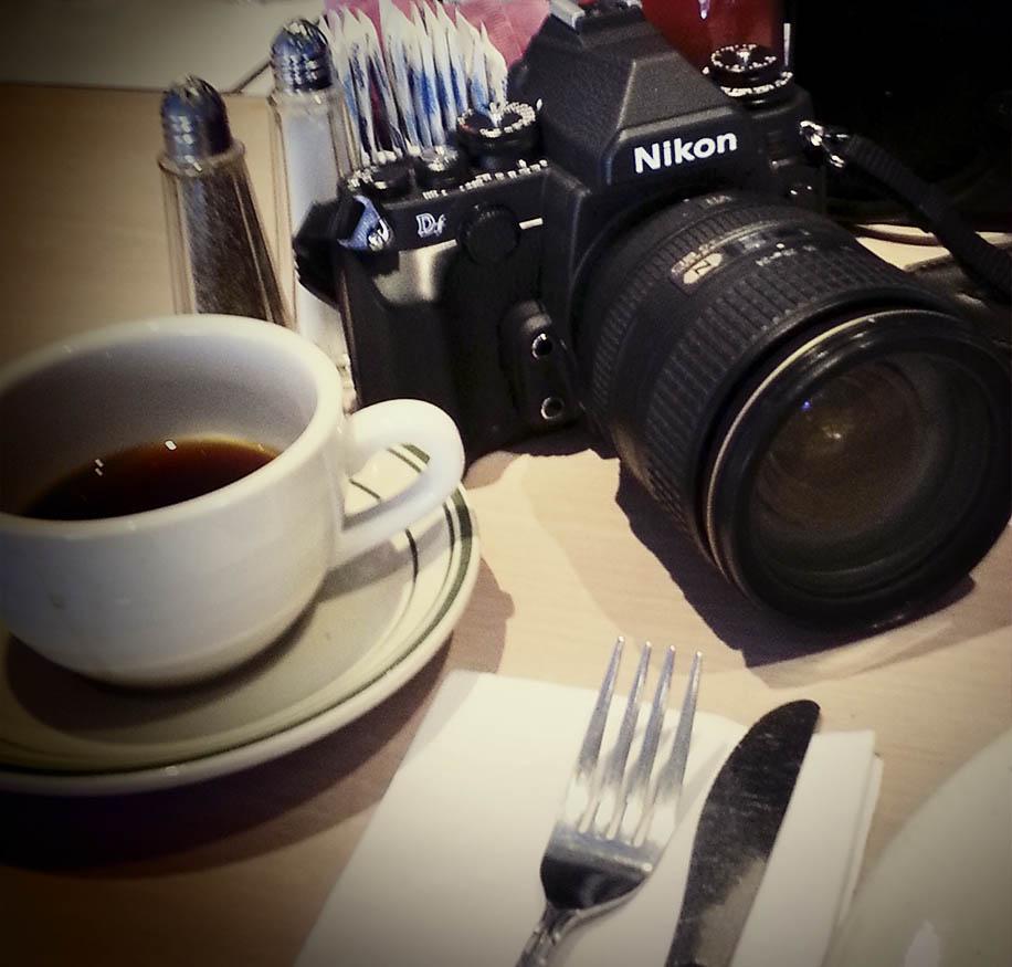 Nikon Df retro elegance