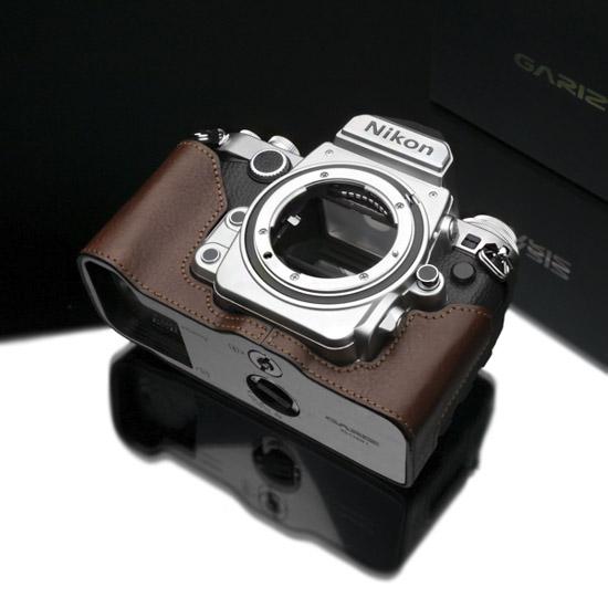 Gariz half leather case for Nikon Df camera 4