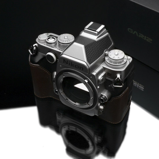 Gariz half leather case for Nikon Df camera 5